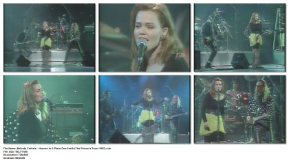 Belinda Carlisle - Heaven Is A Place One Earth (The Prince's Trust 1987)