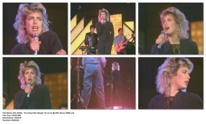 Kim Wilde - You Keep Me Hangin' On (Live @ OBS Show 1986)