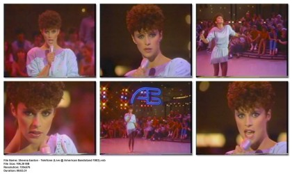 Sheena Easton - Telefone (Live @ American Bandstand 1983)